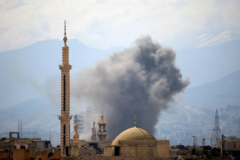 Walki w Damaszku /AFP