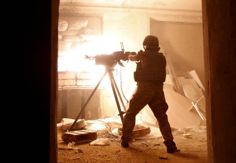 Walki w Donbasie trwają od lata 2014 roku (zdj. archiwalne) /ANATOLII STEPANOV / AFP /AFP