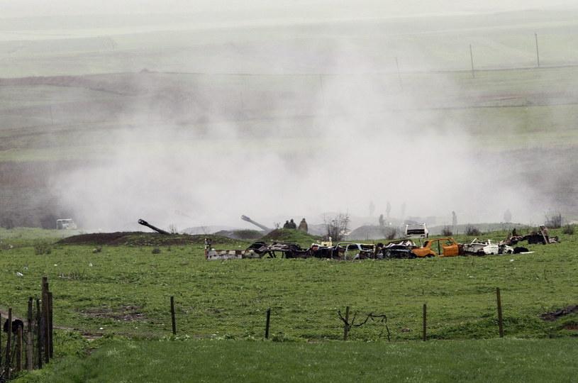Walki w rejonie Górskiego Karabachu /PAP/EPA