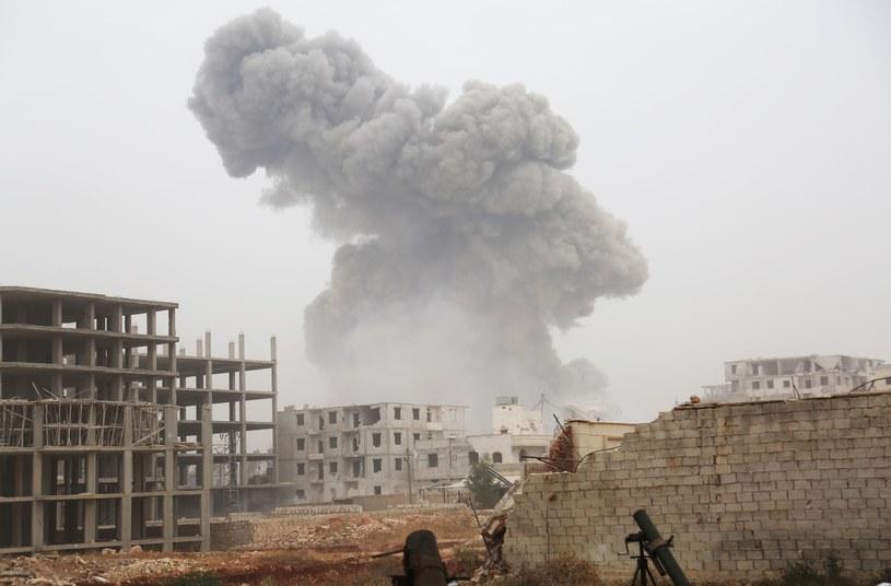 Walki w Syrii, zdj. ilustracyjne /AA/ABACA /East News