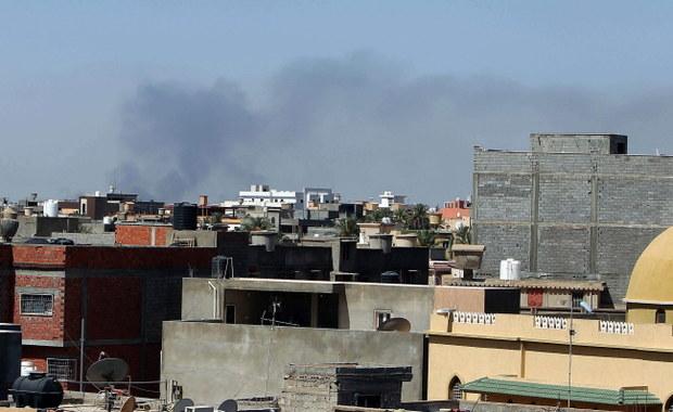 Walki wokół lotniska w Trypolisie, są zabici
