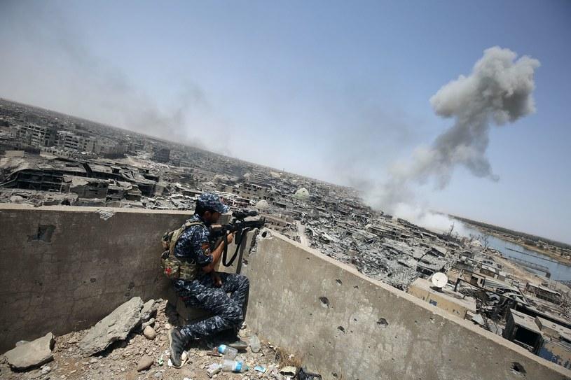 Walki z dżihadystami w Mosulu /AFP