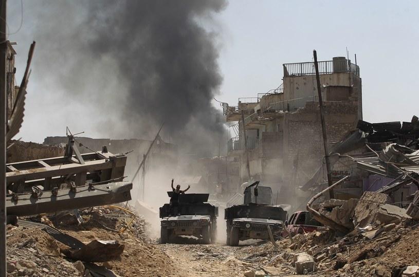 Walki z Państwem Islamskim w Mosulu, zdjęcie ilustracyjne /AFP