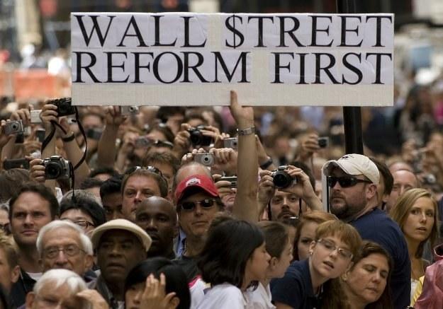 Wall Street ma służyć społeczeństwu, nie odwrotnie /AFP