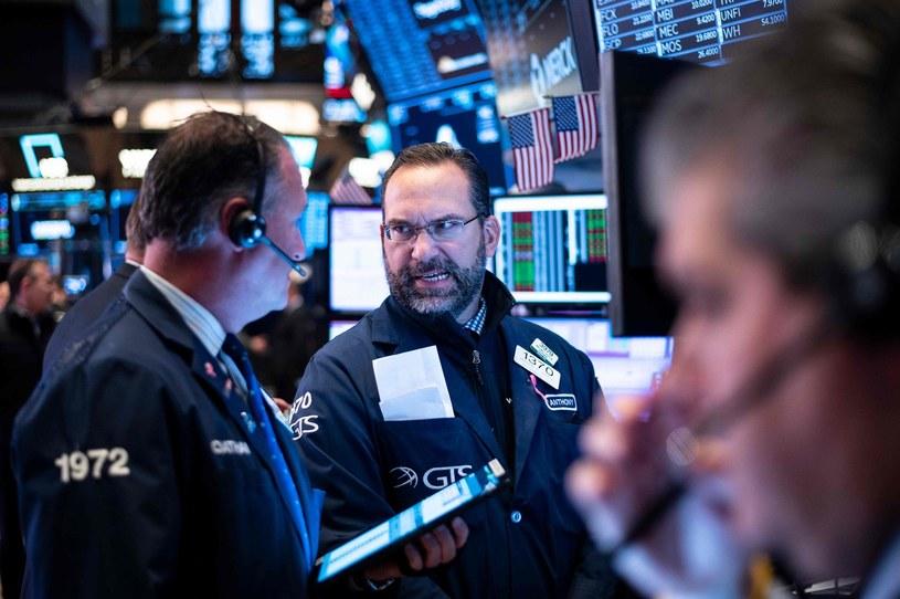 Wall Street na koniec dnia z solidnymi wzrostami /AFP