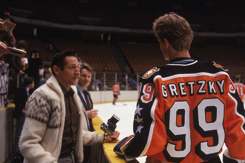 Walter Gretzky i Wayne Gretzky /Getty Images /Getty Images
