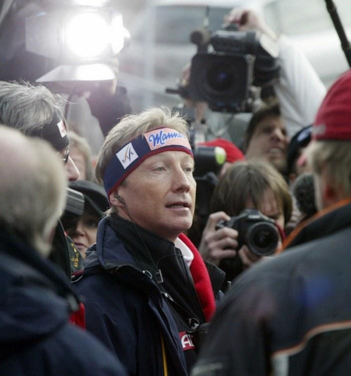 Walter Hofer, dyrektor Pucharu Świata w skokach narciarskich /AFP