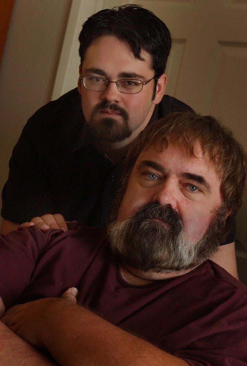 Walter Olkewicz z synem (u góry) Zacharym /Richard Hartog /Getty Images