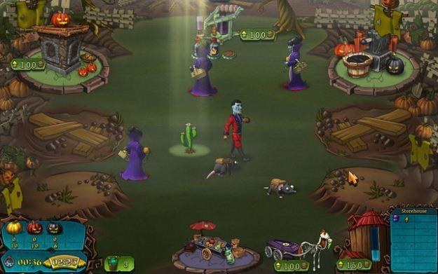 Wampiry vs. Zombie - motyw graficzny /Informacja prasowa