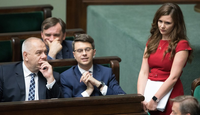 Wanda Buk na posiedzeniu Sejmu /Tomasz Jastrzębowski /Reporter