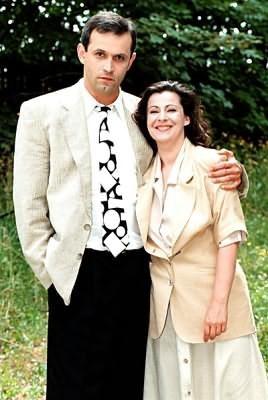 Wanda i Andrzej Kreftowie (Dorota Kolak i Krzysztof Stelmaszyk) /TVP