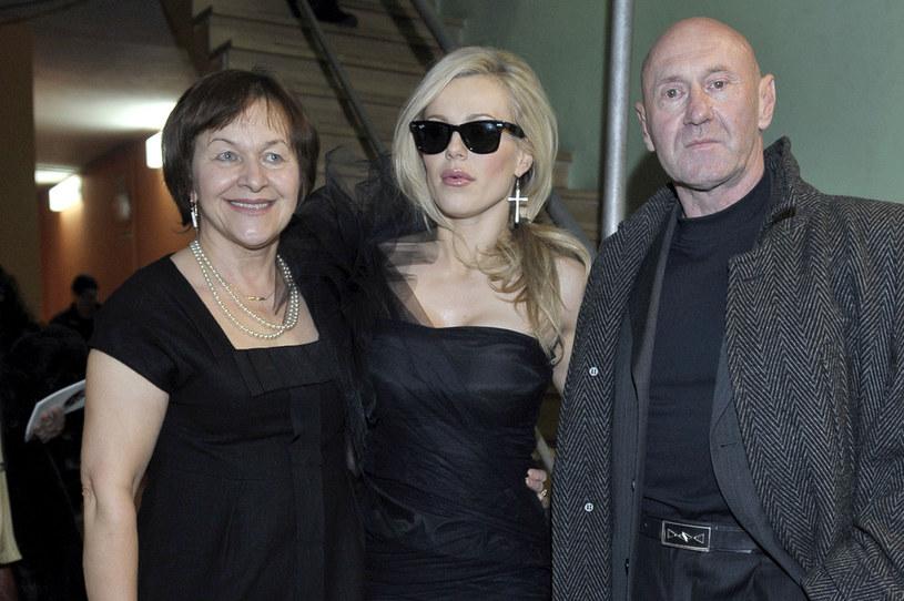Wanda Rabczewska, Doda, Paweł Rabczewski /Kurnikowski /AKPA