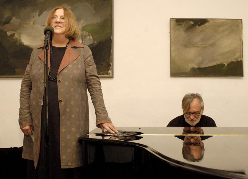 Wanda Warska i Andrzej Kurylewicz, 2006 r. /Tadeusz Rolke /Agencja FORUM