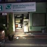 Wandale z Małopolski. Doszczętnie zdewastowany bankomat w Słopnicach