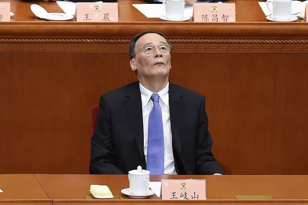 Wang Qishan człowiek prezydenta Chin i pogromca łapówkarzy /AFP