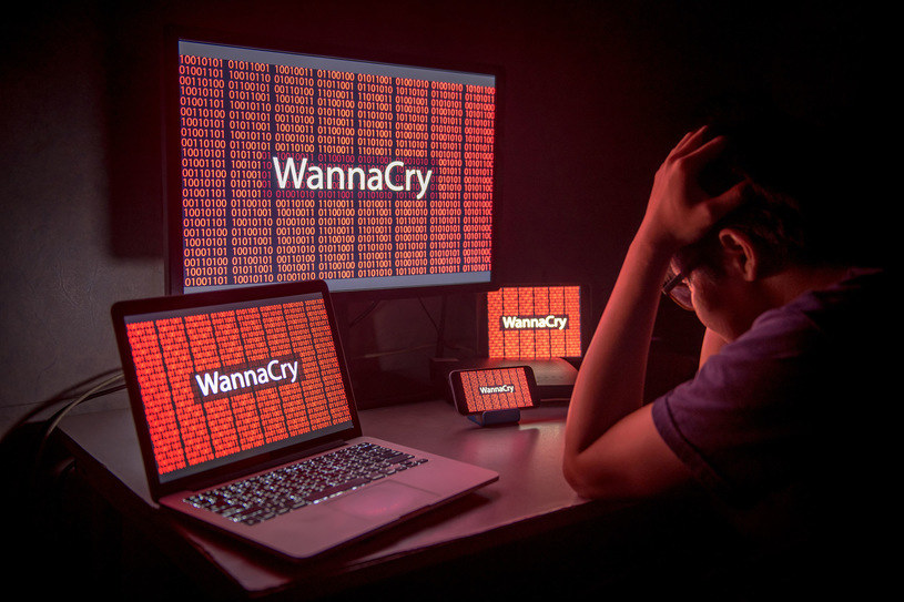 WannaCry zatakował w maju /123RF/PICSEL