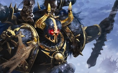 Warhammer 40k: Dawn of War II - Chaos Rising - fragment okładki z gry /Informacja prasowa