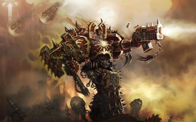 Warhammer: Dark Millenium Online - motyw graficzny /Informacja prasowa