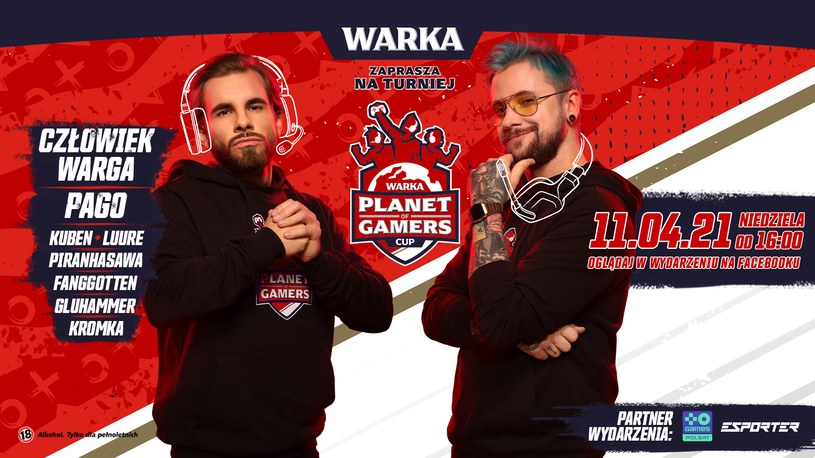 Warka Planet of Gamers Cup /materiały prasowe