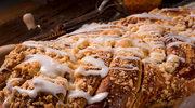 Warkocz z pistacjami