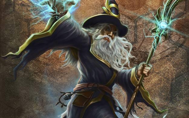 Warlock: Mistrz Magii - motyw graficzny /Informacja prasowa