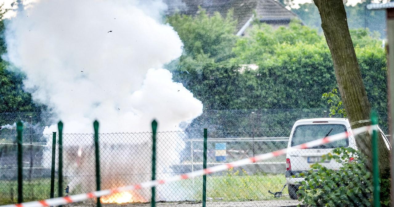 Warlubie: Saperzy zdetonowali ładunek wybuchowy znaleziony pod samochodem nauczycielki