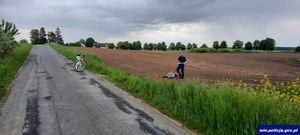 Warmińsko-mazurskie: Pościg za motocyklistą. Policjant dogonił 23-latka na pożyczonym rowerze