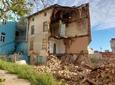 Warmińsko-Mazurskie: Runęła kamienica w Kętrzynie. Strażacy na gruzowisku