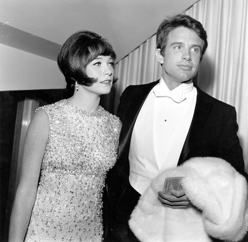 Warren Beatty z siostrą Shirley MacLaine /Earl Leaf/Michael Ochs Archives /Getty Images