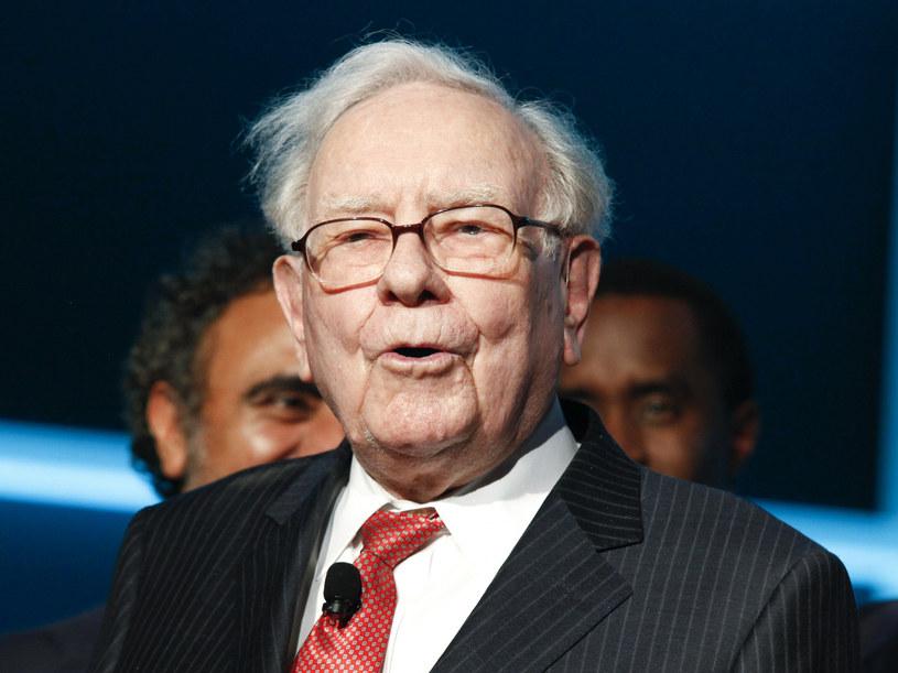 Warren Buffett /Andy Kropa/Invision/AP /East News