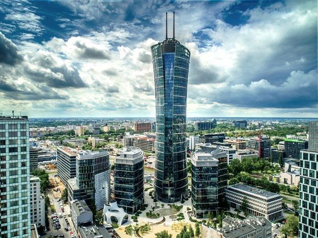Warsaw Spire i Plac Europejski /Informacja prasowa