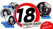 Warszawa: 18. urodziny klubu Dekada