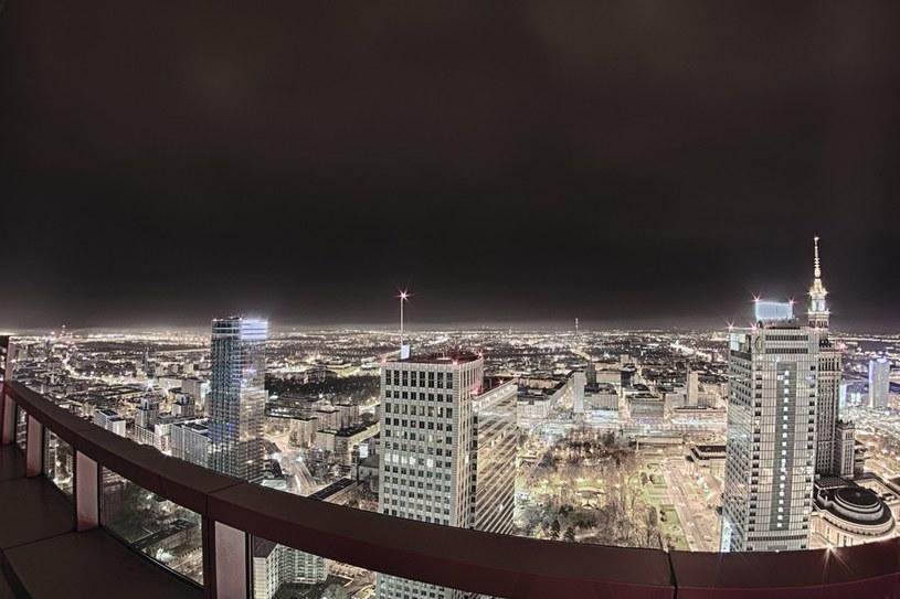 Warszawa będzie jedną z wiodących stolic? /Andrzej Wasilkiewicz /Reporter