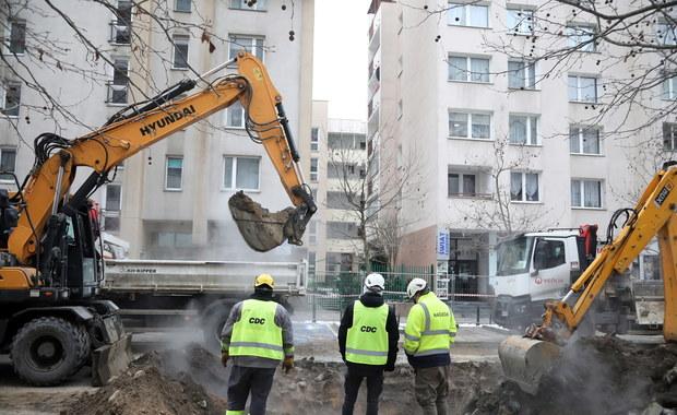 Warszawa: Kolejna awaria ciepłownicza na Pradze