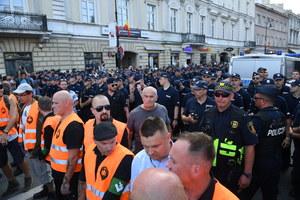 Warszawa: Marsz narodowców rozwiązany