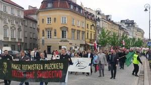 Warszawa maszeruje w hołdzie rotmistrzowi Pileckiemu