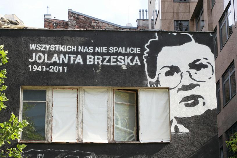 Warszawa. Mural Jolanty Brzeskiej /Piotr Molecki /East News
