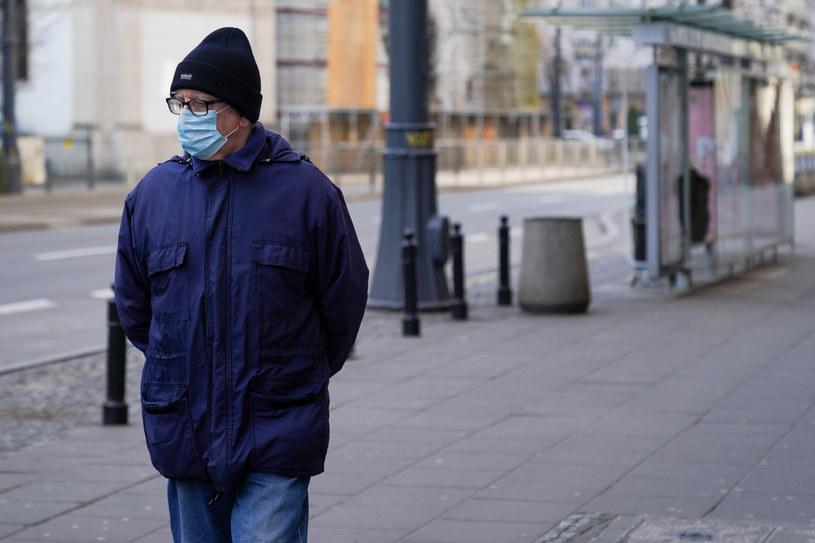 Warszawa podczas światowej pandemii koronawirusa /Aleksandra Szmigiel /Reporter