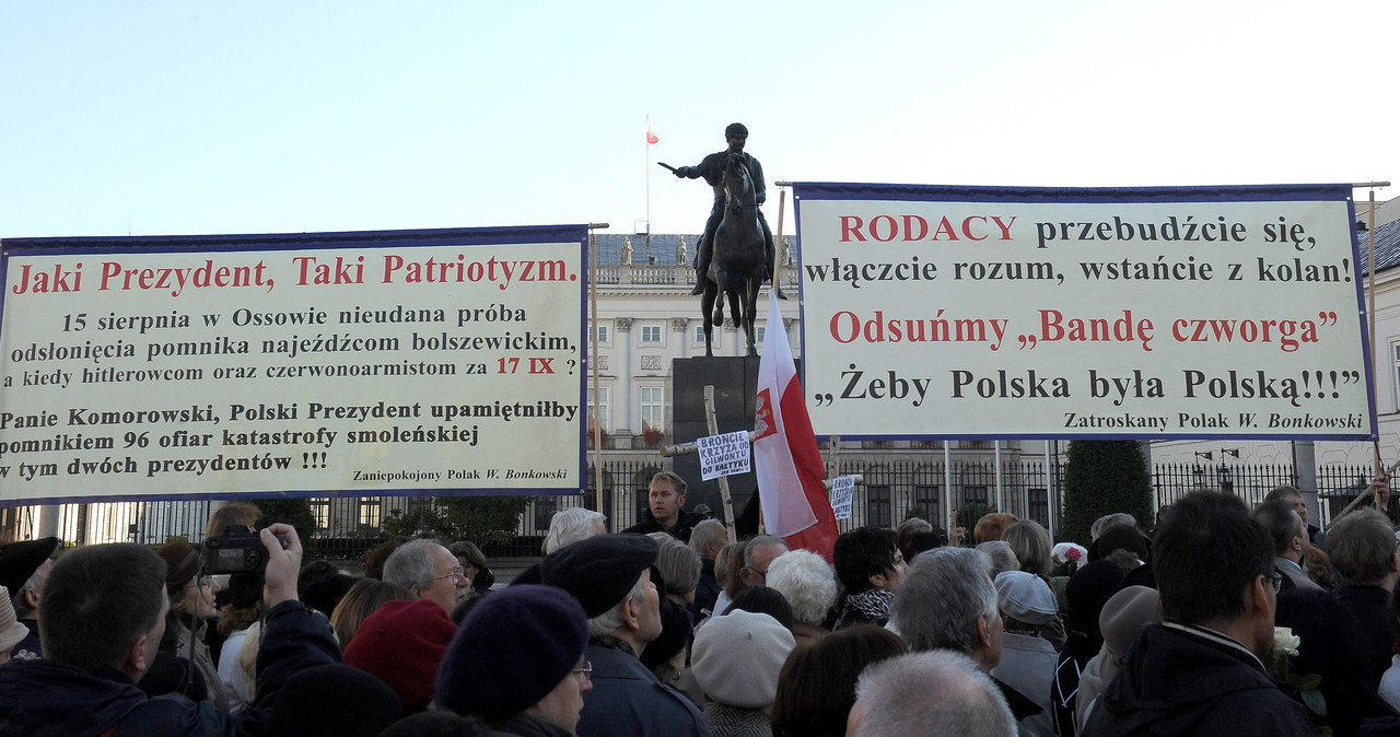 Warszawa - pół roku po tragedii