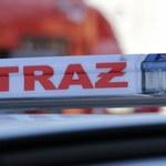Warszawa: Pożar tramwaju na Moście Śląsko-Dąbrowskim