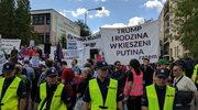 Warszawa: Protest przeciwników Trumpa