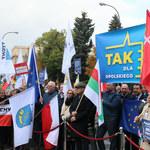Warszawa: Protest samorządowców przeciwko zmianom podatkowym