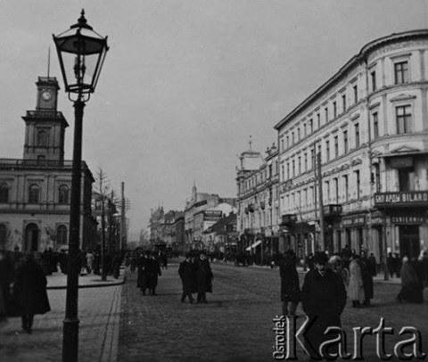 Warszawa przed 1914, ulica Marszałkowska /Fot. Ośrodek KARTA /