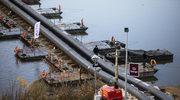 Warszawa: Rozmontowano most pontonowy na Wiśle