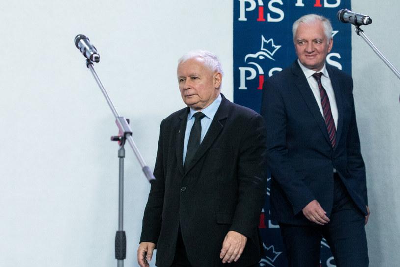 Warszawa: Spotkanie liderów Zjednoczonej Prawicy /fot. Andrzej Iwanczuk /Reporter