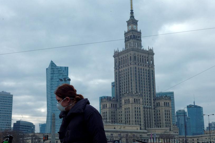 Warszawa w czasie epidemii koronawirusa /Adam Chełstowski /Agencja FORUM