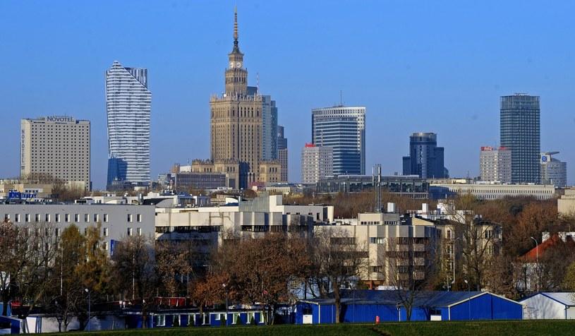 Warszawa, widok na miasto /Jan Bielecki /East News