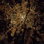 Warszawa z orbity - niesamowite zdjęcie