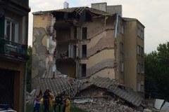 Warszawa: Zawaliła się kamienica na warszawskiej Pradze