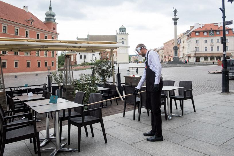 Warszawscy restauratorzy otwierają lokale. /Jacek Domiński /Reporter